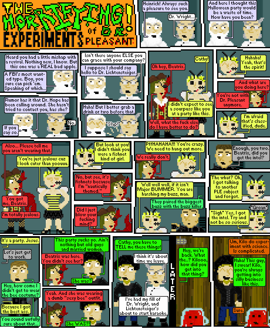 the horrifying experiments of dr. pleasant: halloween spooktacular, 2014: episode 2 (FINAL EPISODE)